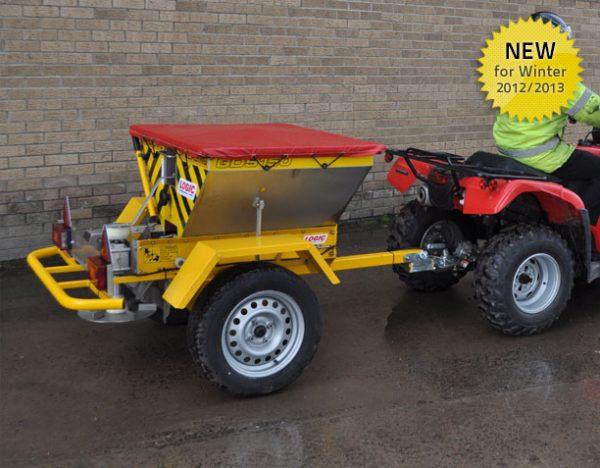 Strooiwagen quad