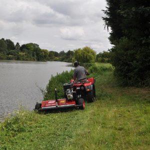 Klepelmaaier quad ATV
